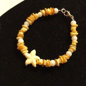New starfish bracelet